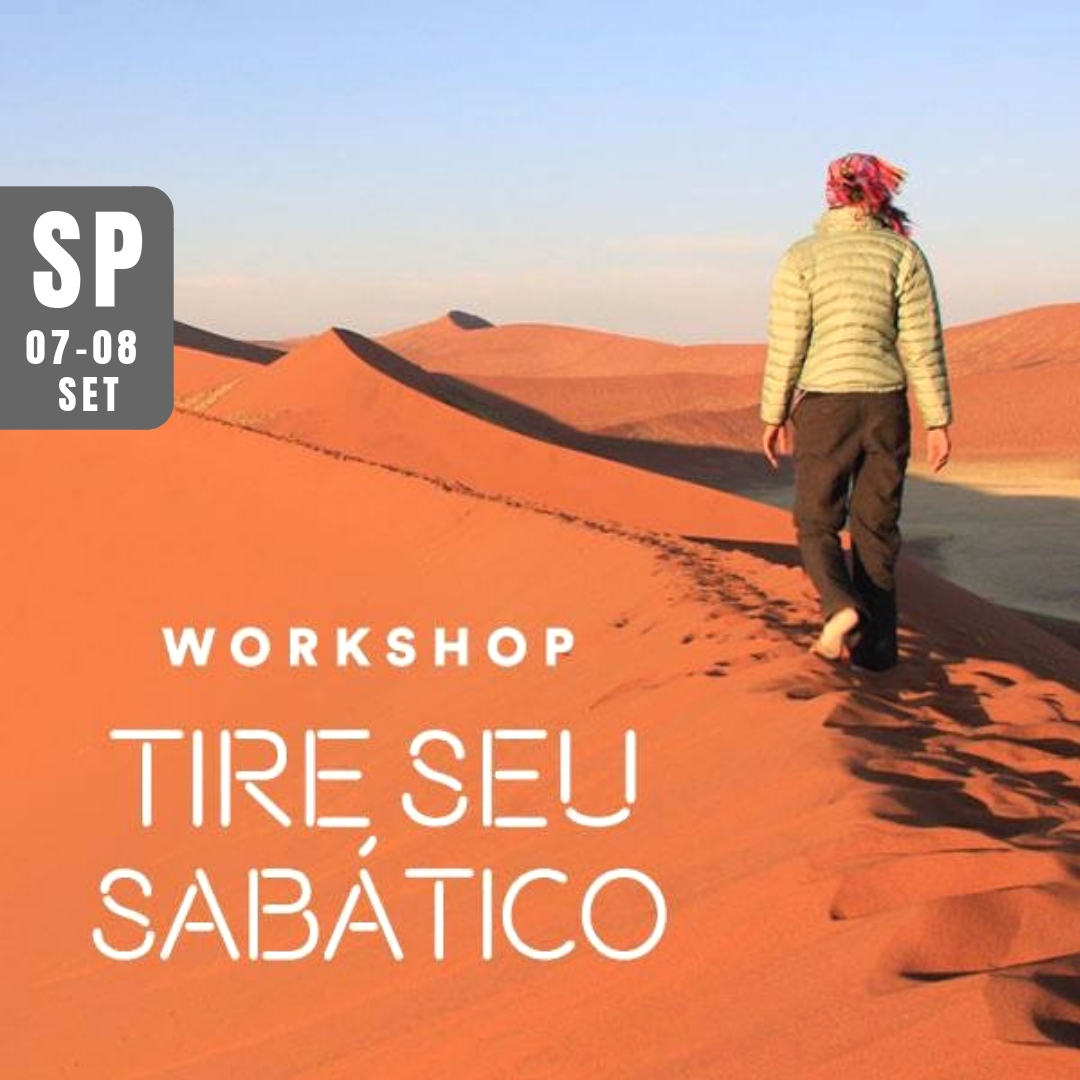 workshop tire seu sabático